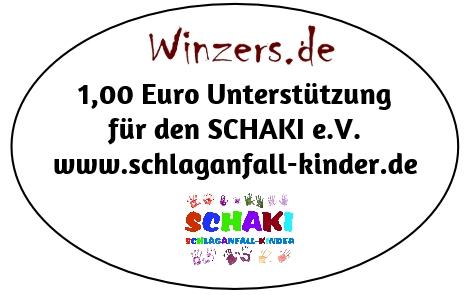 Schaki e.V. & Winzers 1 € als Spende