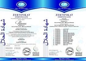 HALAL-zertifikat Princess
