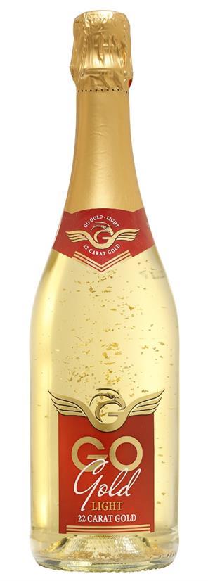 Go Gold light mit 22 karätigem Gold alkoholfrei